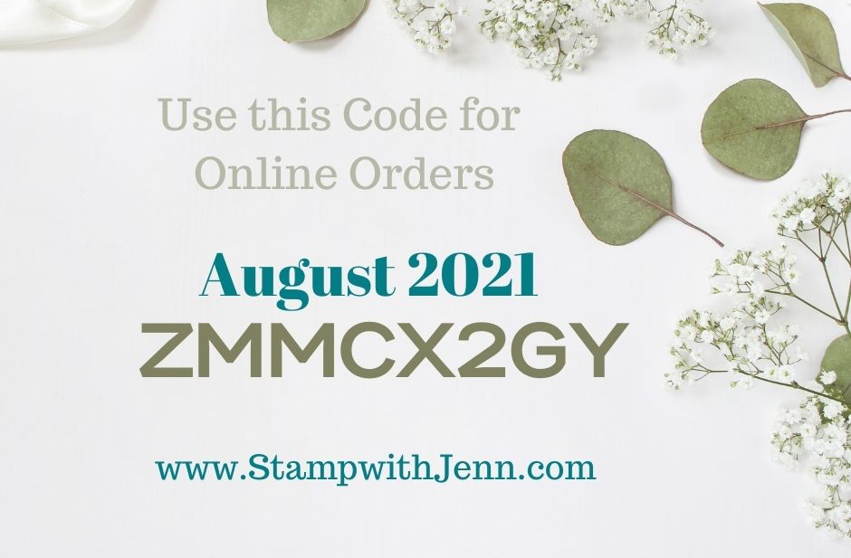 shop online code with Jenn in August