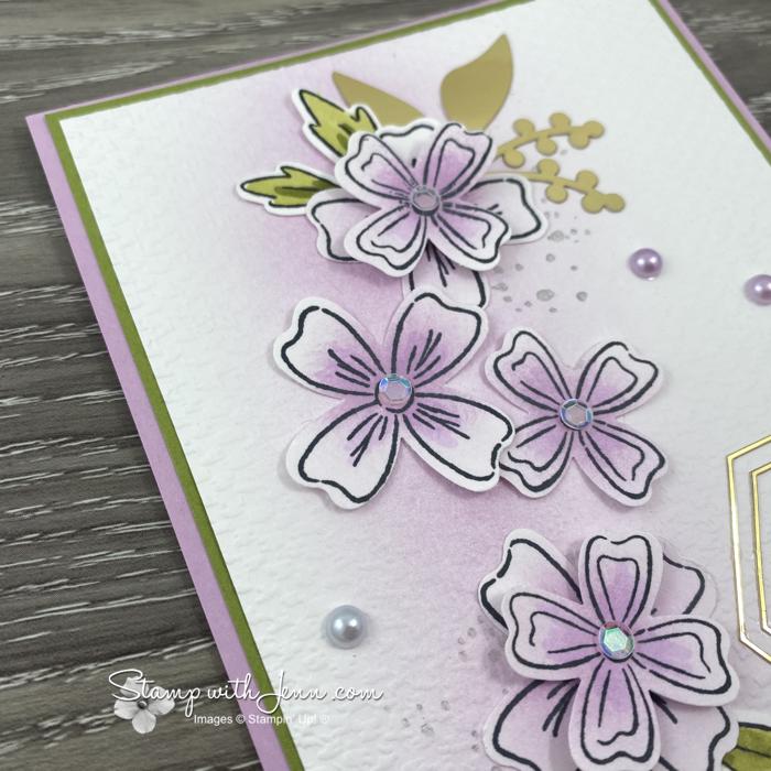 flowers of friendship wedding card in Fresh Fresia