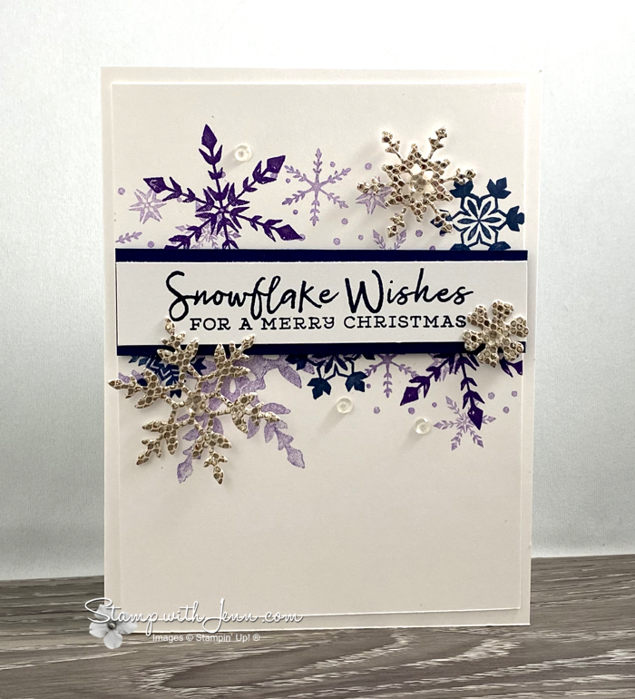 snowflake wishes and be dazzling specialty paper