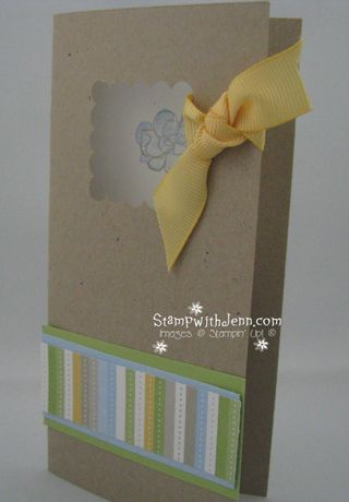 Botanical blooms kraft