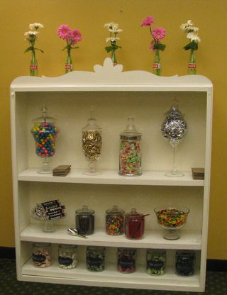 Candy-shelves