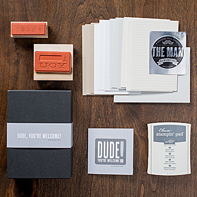 Dude your welcome kit