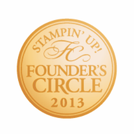 Founders circle 2013 button badge