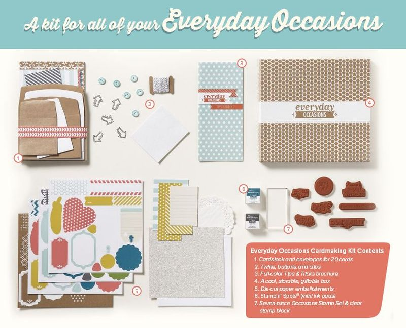 Everyday occcasions card kit