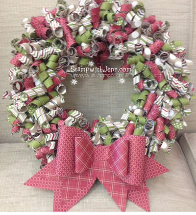 Do It yourself Christmas Wreath