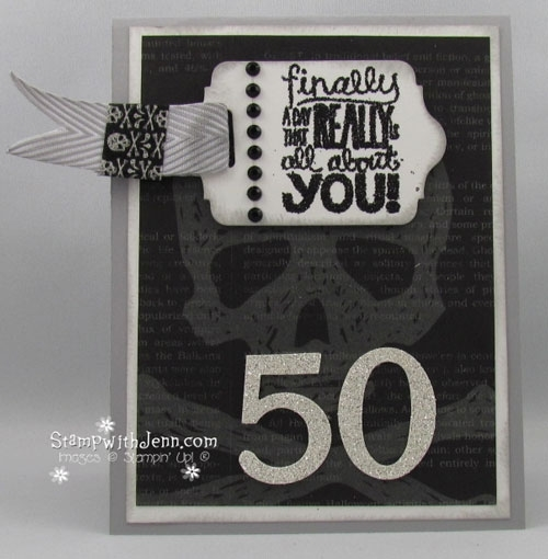 Birthday Card For 50 Year Old