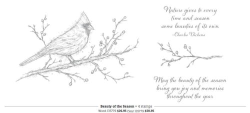 Stamps beauty of the season