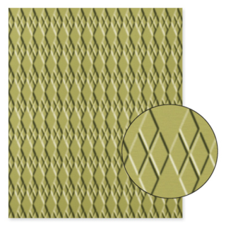 Embossing folder argyle