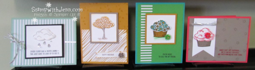 Sprinkles of life set of four cards