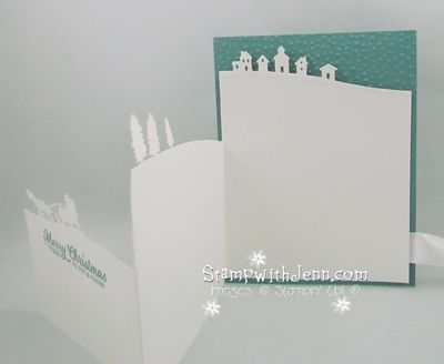 Sleigh ride fold out card 2