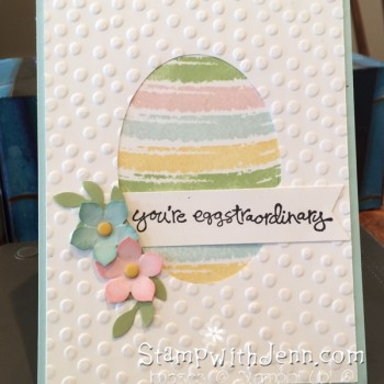 Easy Easter card
