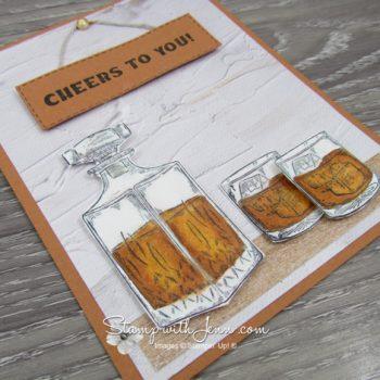 whiskey Business Stampin' Up Stamp Set