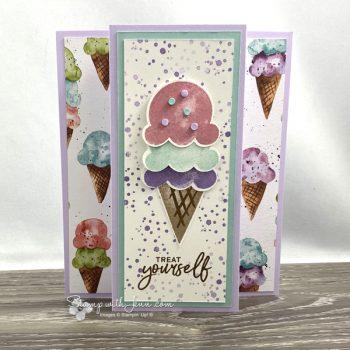 sweet ice cream stamp set stampin' Up