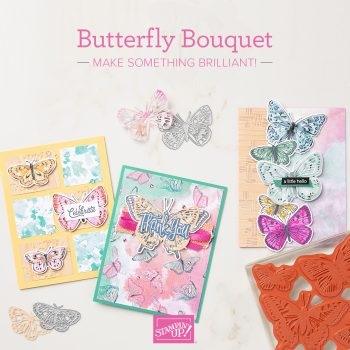 Butterfly bouquet stampin up