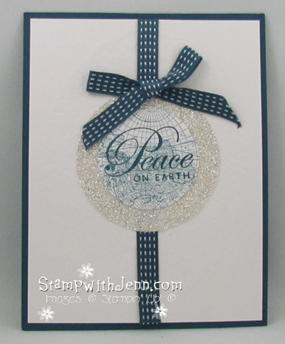 Alison's peace on earth card