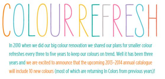 Colour refresh big