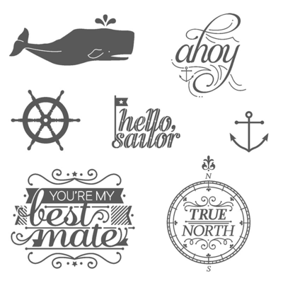 Stamps hello sailor